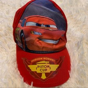 Disney Cars Lightning McQueen Red Toddler Ball Cap